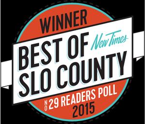 Best of San Luis Obispo Chiropractor 2015